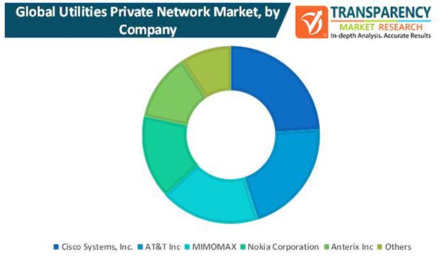 utilities private network market