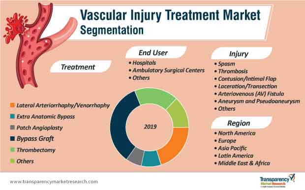 vascular injury treatment market segmentation