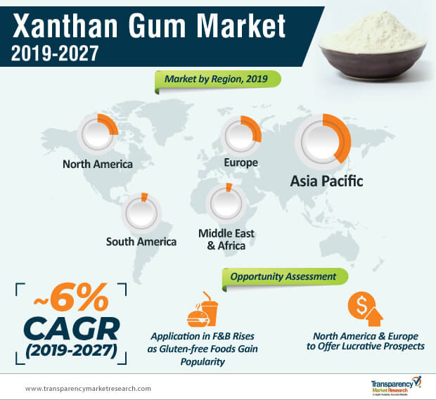 xanthan gum market infographic