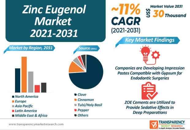 zinc eugenol market infographic